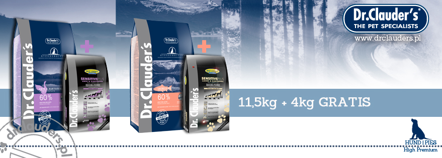 Dr.Clauder's HYPOSENSITIVE 11,5kg+4kg GRATIS