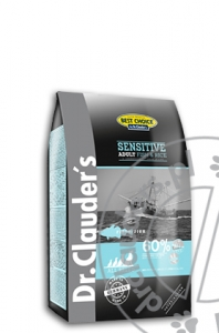 Dr.Clauder's Best Choice SENSITIVE ADULT FISH & RICE - Karma sucha - RYBY & RYŻ - 4kg