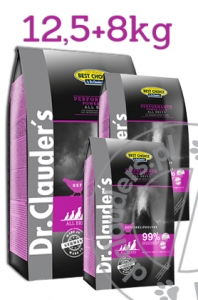 Dr.Clauder's Best Choice PERFORMANCE POWER PLUS - Karma sucha dla aktywnych psów - 20,5kg!