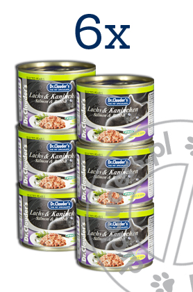 Dr.Clauder's SELECTED PEARLS LACHS & KANINCHEN